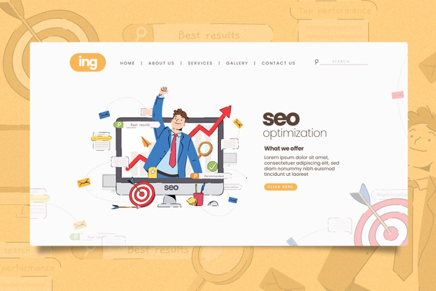 online-marketing-landing-page-illustrated_79603-1008
